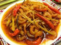Tôm khô rim chua cay mặn ngọt